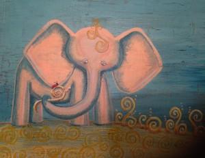 coral elephant
